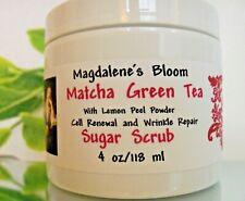 Magdalene's Bloom Matcha Green Tea Sugar Scrub 4 oz