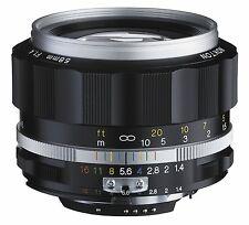 Voigtlander 2016 Nokton 58mm F1.4 SL II Ai-S silber Felge für Nikon F Mount NIB