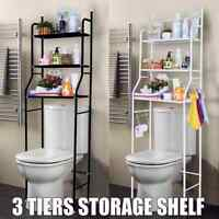 NCT TSR 4 Tier Shelf Over Toilet Bathroom Toilet Shelf with E-Book Metal Space Saver Shelf Organizer Bathroom Organizer Over-The-Toilet Shelf
