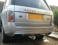 Range Rover Vogue L322 Autobiography style rear bumper & Exhaust Tips 2002-2013