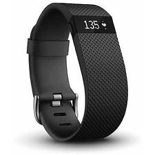 Fitbit FB405BKS Charge HR Heart Rate and Activity Tracker + Sleep Small, Black