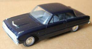 Vintage 1962 Ford Futura Dark Blue 2 DR Sedan Promotional Car