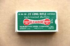 Remington-Umc .22 Long Rifle Kleanbore Empty Box, Dogbone Box