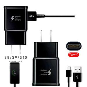 Cargador rápido de Pared compatible para Samsung Galaxy S10 S10 Plus S9 S8 tipoC