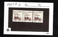 PNC3 1907  Surrey # 10  MNH