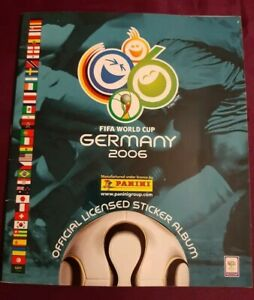 ALBUM Germany 2006, only 3 stickers, Panini rookie card # 298