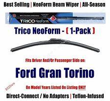 Super Premium NeoForm Wiper Blade Qty 1 fits 1972-1976 Ford Gran Torino - 16160