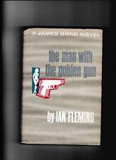 the man with the golden gun---A JAMES BOND NOVEL---IAN FLEMING---HC/DJ---1965BCE