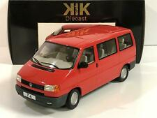 VW Volkswagon T4 1992 Red Caravelle 1:18 Scale KK Scale 180261