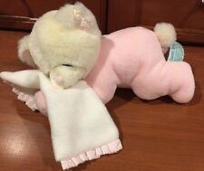 Sweet Dreams Baby Bear Sleeping Rattle Pink Russ Girls