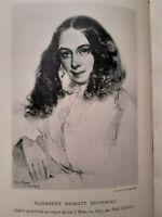 La vie et l'oeuvre d'Elizabeth Barrett Browning, Germaine-Marie Merlette,