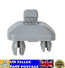 2x Gray Sun Visor Clip Hook Bracket 8U0857562 8E0857562 Audi A1 A3 A4 Q3 Q5