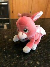 "Shrek Dronkey Donkey Dragon Baby Plush Stuffed Animal Pink 7"""