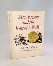 Mrs. Frisby and the Rats of Nimh-Robert C. O'Brien-First Edition/Second Printing