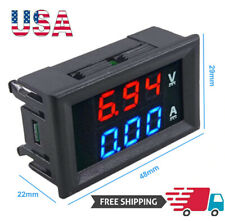 Mini DC 100V 10A Digital Voltmeter Ammeter Car LED Display Panel Amp Volt Tester