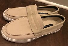 Tommy Hilfiger Men's TM Peters Fashion Slip On Sneakers Beige Sz 9.5 - New