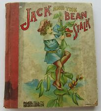 Jack And The Bean Stalk 1905 A.E. Wilcox Homewood Publishing Co 1st Prnt  Illus