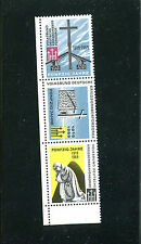 Poster Stamp Label strip of 3 Germany Kriegsgraber War Graves Society Charity