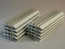 "LIONEL FASTRACK STRAIGHT TRACK SECTIONS LOT OF 10"" train fas 6-12014 NEW (10)"