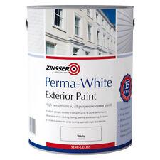 ZINSSER perma-white extérieur SEMI-BRILLANT Moule résistant Peinture 15 Yr 5L