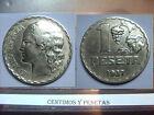 CyP Moneda 1 Peseta republica del 1937