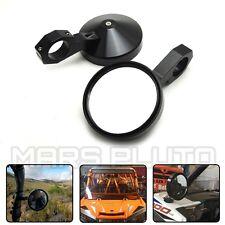 "1.75"" Round Side Rear View Mirrors for Polaris RZR Ranger 900 XP4 1000 S900 1000"