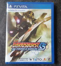Limited Run Games #66 Dariusburst Chronicle Saviours CS Playstation PS Vita NEW!