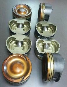 "Diamond Custom Dish Piston Set / 6.0 LS ""Turbo"" Pistons"