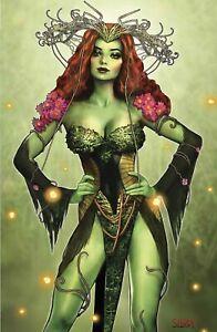 🚨🦇 BATMAN FEAR STATE ALPHA #1 SZERDY Virgin Variant LTD 1000 Poison Ivy