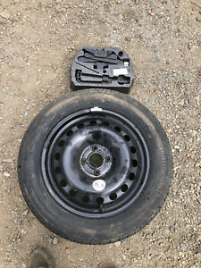 """RENAULT MEGANE MK3 COUPE 16"""" SPARE WHEEL KIT 205/55/16 7mm Continental"""