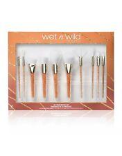 Wet N Wild Pro Collection Set 10 piece Brush Set Limited Edition NIB