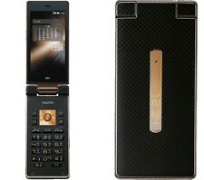 AU KDDI SHARP SHF31 AQUOS K ANDROID FLIP PHONE CELL UNLOCKED BLACK NEW 007SH