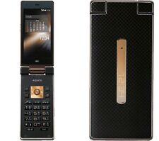AU KDDI SHARP SHF31 AQUOS K ANDROID 4.4 FLIP PHONE CELL UNLOCKED BLACK NEW 007SH