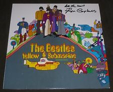 RON CAMPBELL ANIMATOR SIGNED THE BEATLES YELLOW SUBMARINE REISSUE RECORD ALBUM