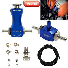 Universal Adjustable Car Bilateral Manual Turbo Boost Controller Valve Kit Blue