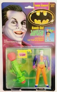BATMAN DARK KNIGHT COLLECTION KNOCK-OUT JOKER 1990 MOVIE ACTION FIGURE!
