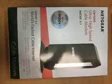 NETGEAR CM1000-100NAS DOCSIS 3.1 Cable Modem - Black