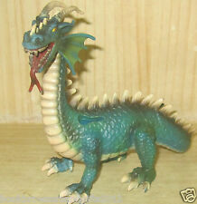 "KIDS TOYS:  Schleich  Germany Toy Ritter FANTASY GREEN Dragon - Large 7.5"" x4"""