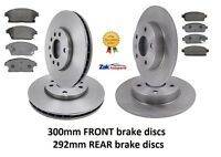 VAUXHALL ASTRA J MK6 (09-) 1.7 2.0 CDTi FRONT AND REAR BRAKE DISCS AND PADS SET