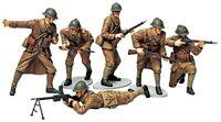 TAMIYA 1/35 Military Miniatures WWII FRENCH INFANTRY Set Model Kit NEW Japan
