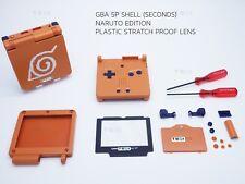 Nintendo Naruto Shell Game Boy Advance SP Repuesto Carcasa Gba caso Shell