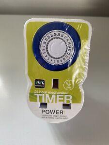 24 hour mechanical timer- New