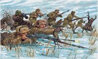 ITALERI 6069 set 48 Figure soldati Fanteria sovietica uniforme inverno WWII 1:72