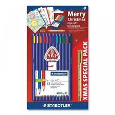 Staedtler Ergo Soft Christmas Set - 12 Coloured Pencils