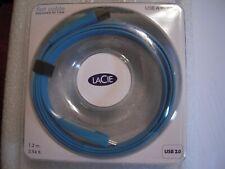 Lacie flat cable USB A to mini B - New in Box 4 feet usb 2.0