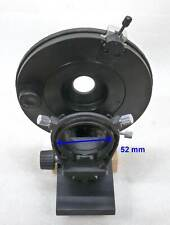 ZEISS Polarisations Drehtisch Mikroskop 360° drehbar Kondensorhalterung + Trieb