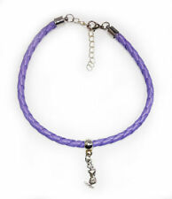 Leather Alloy Fashion Anklets