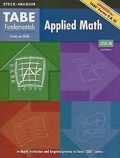Tabe Fundamentals Applied Math, Level M