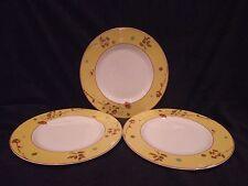 Set of 3 Lenox Canary Luncheon/Salad Plates
