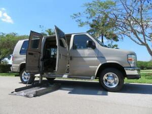 2008 Ford E-Series Van Recreational Handicap Wheelchair Conversion